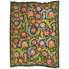 Colorful Vintage Suzanni Embroidery