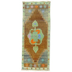 Colorful Vintage Turkish Mat