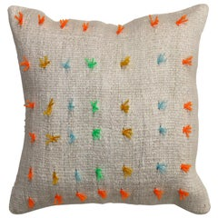 Colorful Wool Modern Kilim Pillow