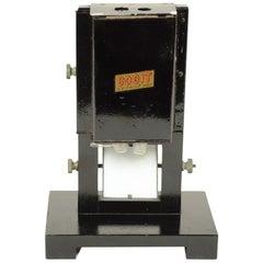 Colorimeter Made of Wood and Black Metal, 1920s
