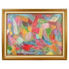 Colors Palette Abstract painting