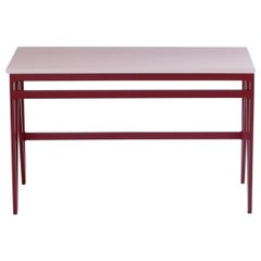 Colour Play Steel and Wood Bench, Customisable