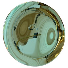 Concave Mirror glass in Green