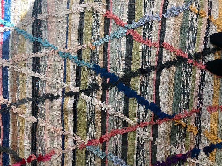 Colourful Kelim Rug In Good Condition For Sale In Copenhagen K, DK