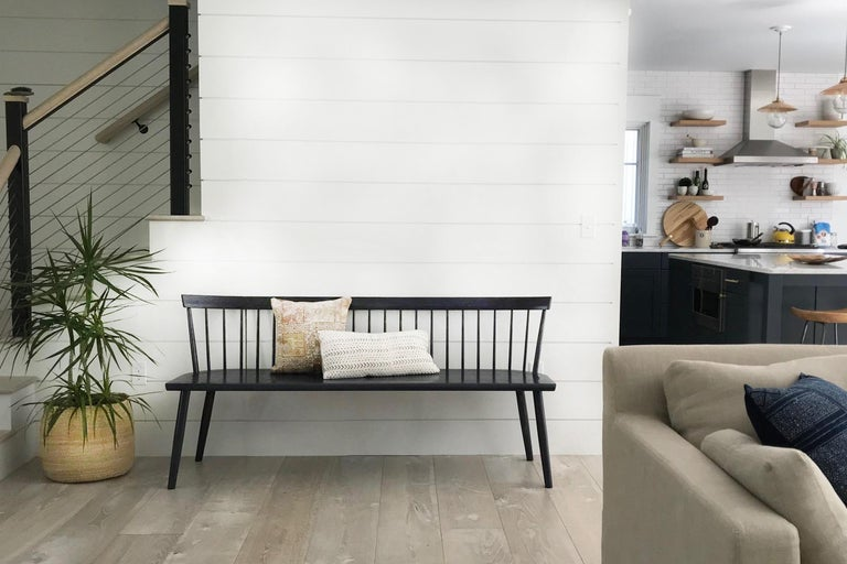 Colt Low Back Settee Contemporary Windsor For