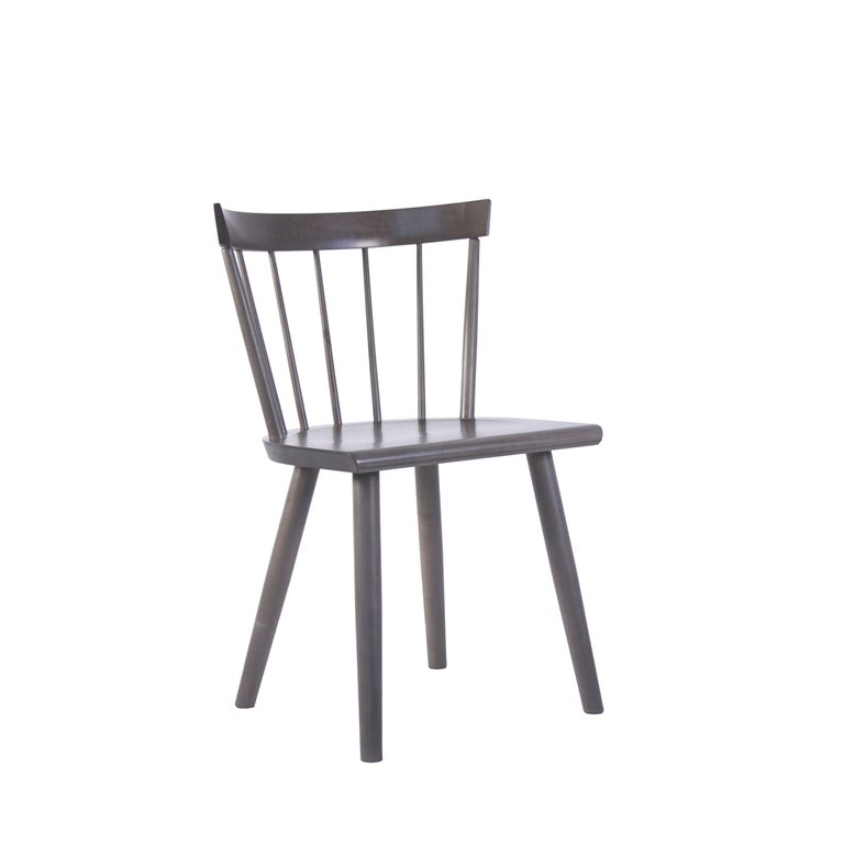 American Colt Low Back Side Chair, Contemporary Windsor Chair For Sale