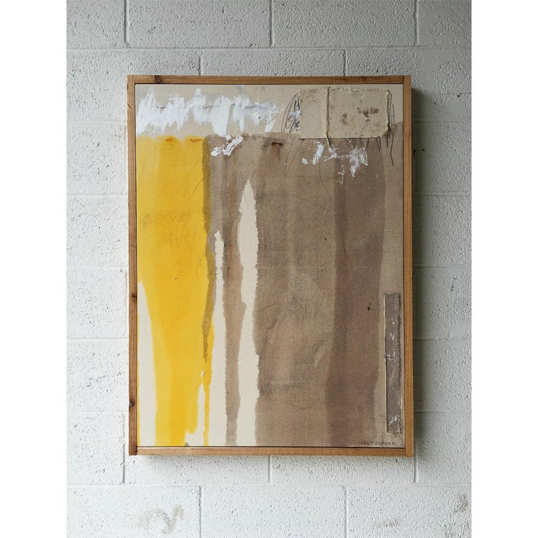 Oil, acrylic, charcoal, and pencil on canvas framed in cedar.  Colt Seager is an internationally recognized artist who resides in the suburbs of Chicago. Working primarily in the mediums of painting and sculpture, his art seeks to invite others