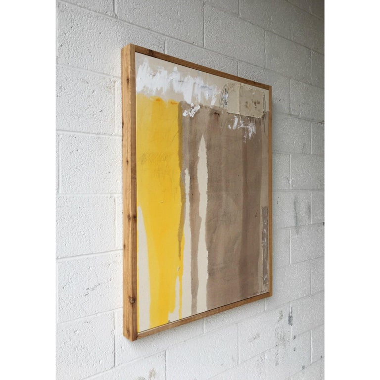 American Colt Seager 'Immersion #3' Mixed-Media on Canvas For Sale