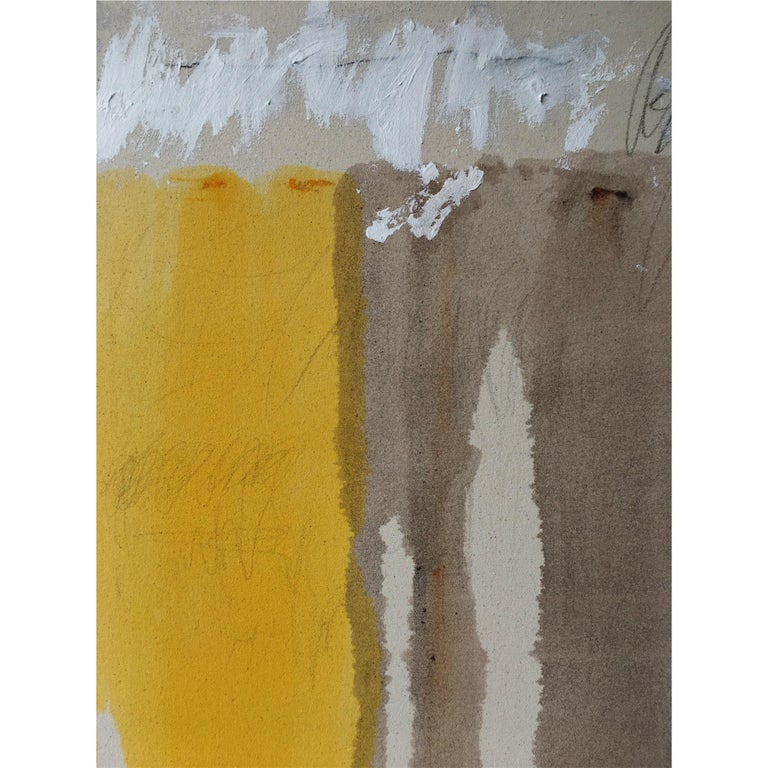 Colt Seager 'Immersion #3' Mixed-Media on Canvas In Excellent Condition For Sale In Chicago, IL