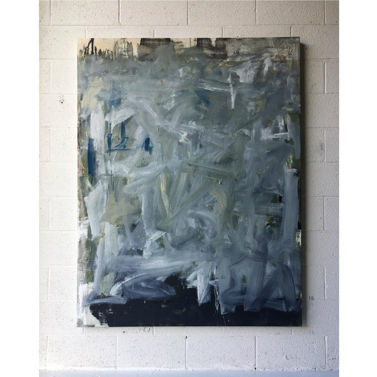 Oil + cotton string on canvas  Colt Seager is an internationally recognized artist who resides in the suburbs of Chicago. Working primarily in the mediums of painting and sculpture, his art seeks to invite others into a holy space, encouraging