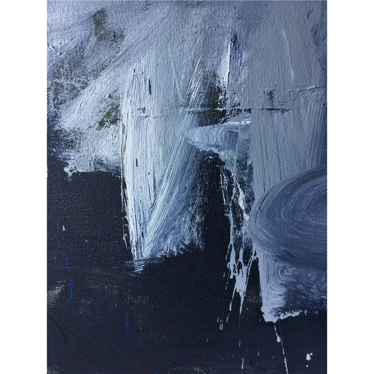 Contemporary Colt Seager 'Mist' Oil on Canvas For Sale