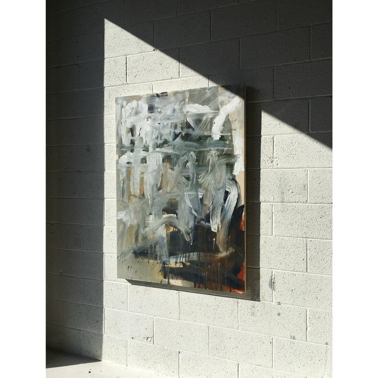 American Colt Seager 'Rising Sun' Oil on Canvas For Sale