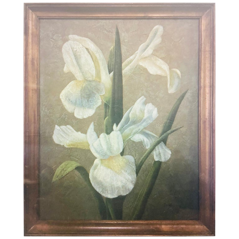 Columbian Catalina Oil on Canvas Painting Signed Sonia Bulley  For Sale