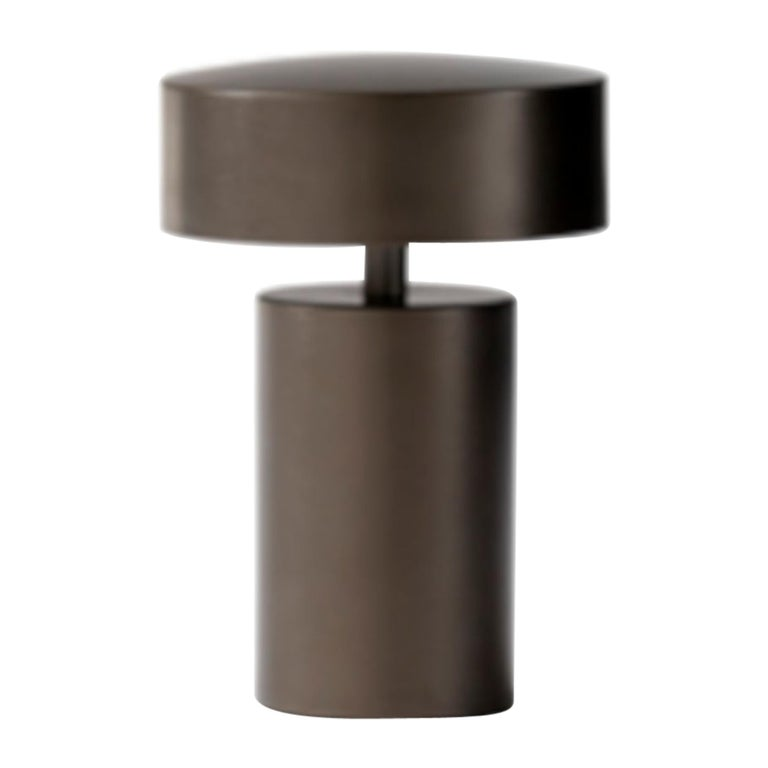 Column, Bronze LED Table Lamp by Norm Architects Cordless Lamp For Sale