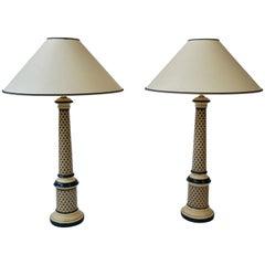Säulen-Tischleuchten
