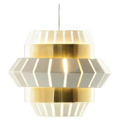 Comb Suspension Lamp with Brass