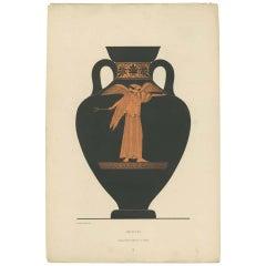 Combined listing  Set of Four Antique Prints of Greek Ceramics (1883)