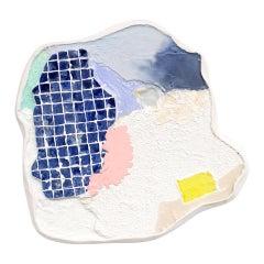 """Côme Clérino Contemporary Artwork Wall Piece """"Fenetre One"""", 2019"""