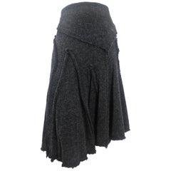 Come des Garcons 2002 Collection Wool Knit Skirt