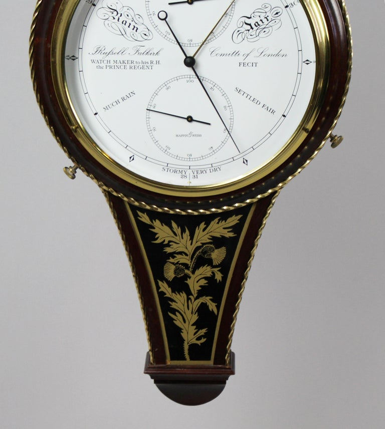 Comitti of London Limited Edition Prince of Wales Barometer For Sale 5