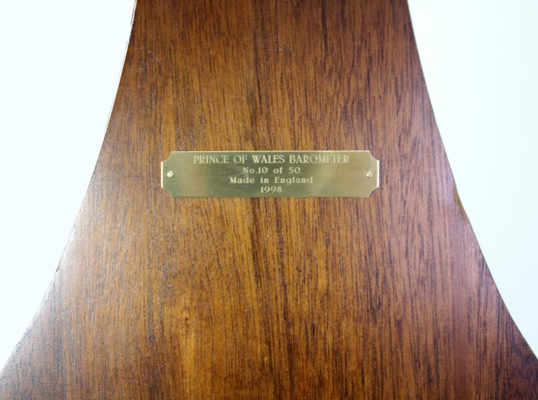 Comitti of London Limited Edition Prince of Wales Barometer For Sale 6