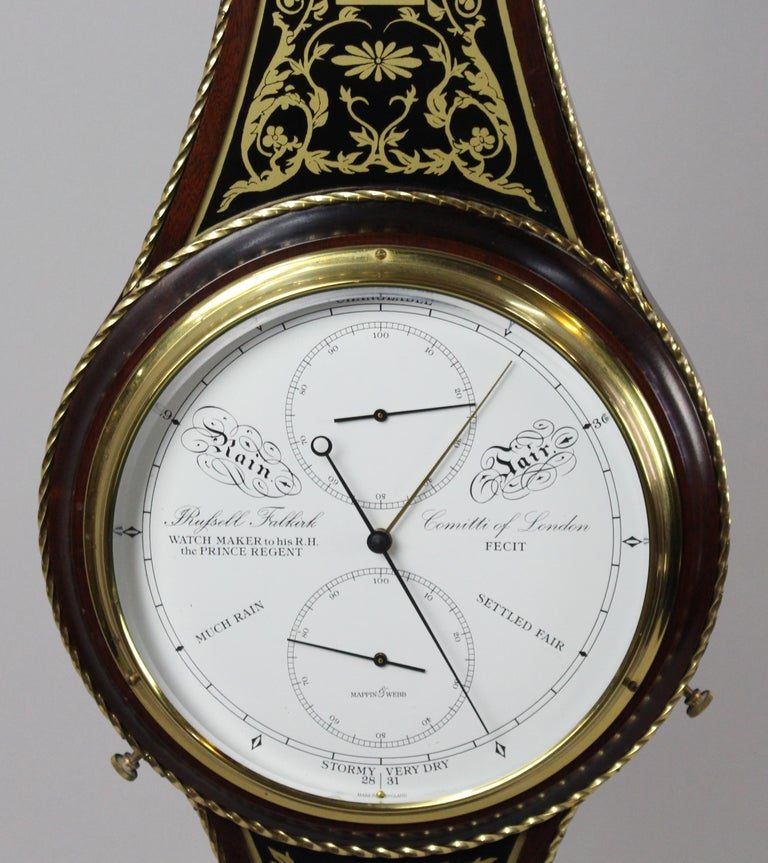 Comitti of London Limited Edition Prince of Wales Barometer For Sale 3