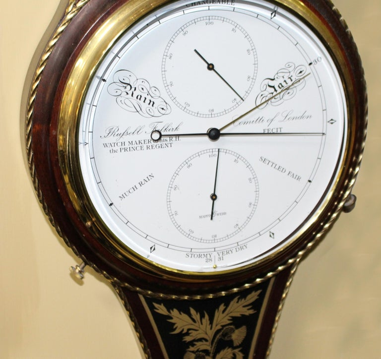 Comitti of London Limited Edition Prince of Wales Barometer For Sale 4