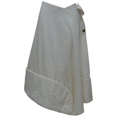 Comme Des Garcons 1996 Padded Skirt With Safetypin