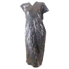 Comme des Garcons 1999 Collection Sequin Dress