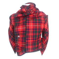 Comme des Garcons 1999 Collection Tartan Jacket