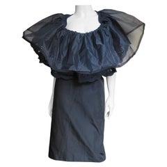 Comme des Garcons 2001 Ruffle Collar Dress