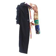 Comme des Garcons 2011 Collection Vintage Scarf Sleeve Coat