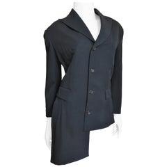 Comme des Garcons A/D 1991 Asymmetric Jacket