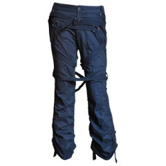 Comme des Garcons AD 2002 Pants with Straps