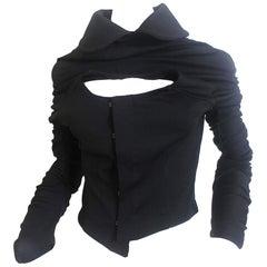 Comme des Garcons AD 2004 Spiral Sleeve Bustier Jacket
