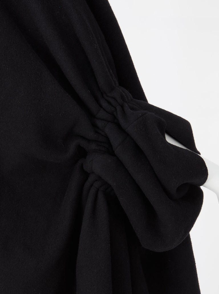 Women's COMME des GARCONS, Black coat, circa 1995 For Sale