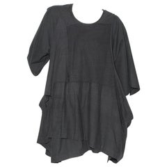 Comme des Garćons Black Patchwork Shift Dress