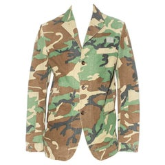 Comme des Garcons Camo Jacket By Junya Watanabe
