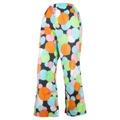 Comme des Garçons Colorful Circle Pants, 2003