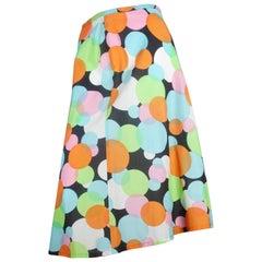 Comme des Garçons Colorful Circle Skirt, 2003