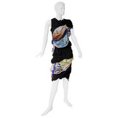 Comme des Garcons Coveted 2011 Hybrid Vintage Scarf Dress