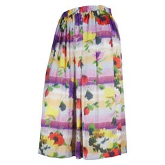 Comme des Garçons Floral Fluid Skirt, 2007