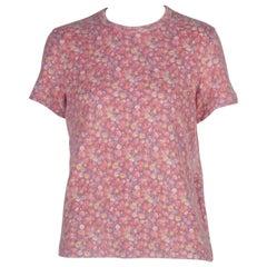 Comme des Garçons Floral Sweater Tee, 2002