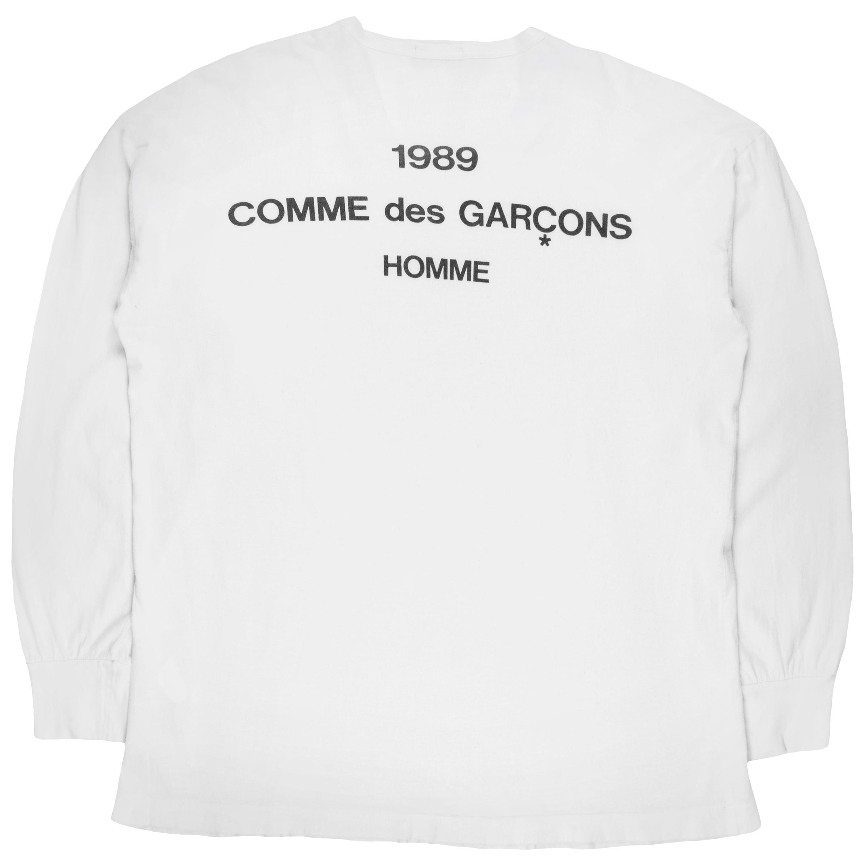 Comme des Garçons Homme 1989 Logo Long Sleeve Shirt