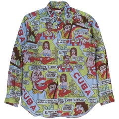 Comme des Garçons Homme AW2002 Cuba Shirt
