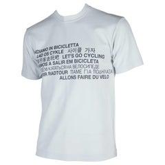 Comme des Garçons Homme Gray Cycling T-shirt, 2001