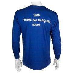 Comme des Garçons Homme Long Sleeve Cotton T-shirt, 1989