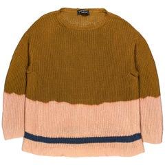 Comme des Garçons Homme Plus AW1993 Bleach-Dyed Sweater