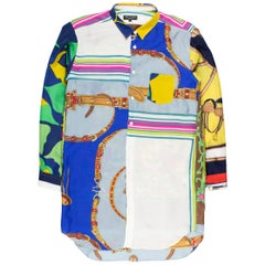 """Comme des Garçons Homme Plus AW2011 """"Decadence"""" Reconstructed Scarf Shirt"""