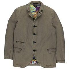 "Comme des Garçons Homme Plus AW2011 ""Decadence"" Silk Jacket"